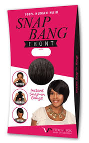 snap hair vivica a fox human hair snap front