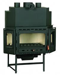 wood burning fireplace heat exchanger binhminh decoration