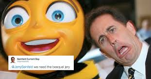 Bee Movie Meme - jerry seinfeld taunts twitter with question about bee movie