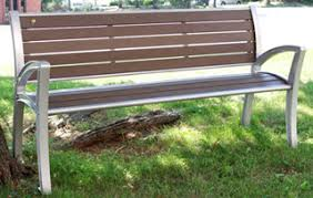 recycled plastic garden benches park or patio furniture