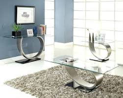 coffee table and end table sets 2 coffee table 3 piece brushed chrome coffee table set glass tops