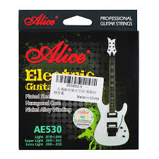 light electric guitar strings alice ae530 l electric guitar strings set plated steel nickel
