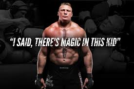 brock lesnar s rise from midwest kid to megastar bleacher