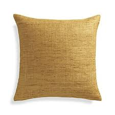 Yellow Decorative Pillows