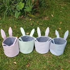 easter buckets wholesale blanks seersucker easter easter tote bags