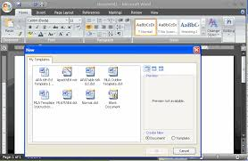 How Do I Find Resume Templates On Microsoft Word 2007 Apa Format Styles For Typing Papers In Apa Style Reference Point