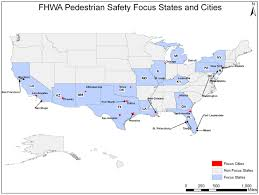New Mexico On Us Map by High Pedestrian Fatality Rates Aren U0027t The Only Thing Fhwa U201cfocus