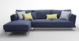Blue Velvet Sectional Sofa by Blue Sectional Sofa Roselawnlutheran