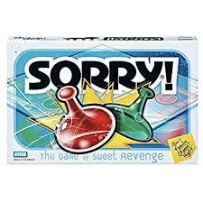 amazon com sorry classic edition board game toys u0026 games