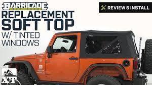 jeep wrangler 2 door soft top jeep wrangler barricade replacement soft top 2007 2009 jk 2 door