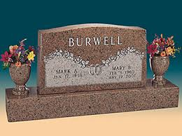 Flat Headstones With Vase Headstones Monuments Grave Markers Cemetery Benches