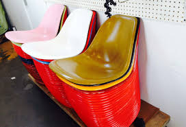 slide show inside the eames chair factory los angeles magazine
