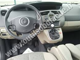 obd2 connector location in renault scenic 2 2003 2009 outils