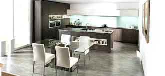 cuisine ouverte ilot central cuisine ouverte avec ilot c3aelot central lzzy co