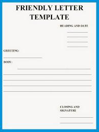 business letter examples friendly letter format letter format