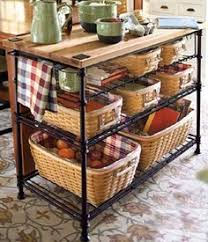 wrought iron kitchen island longaberger wrought iron treasure basket stand w woodcraft shelf