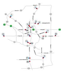 Calgary Map Map Of All Calgary Funeral Homes Calgary Funeral Homes