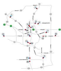 Calgary Map Map Of All Calgary Funeral Homes Calgary Funeral Homes