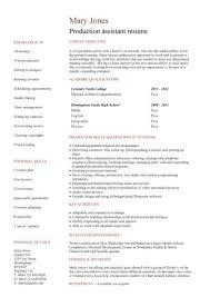 college student resume examples little experience