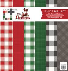 plaid christmas mad 4 plaid christmas photo play paper co