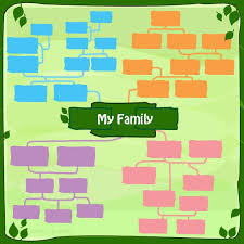 Tree Templates For Children Family Tree Template