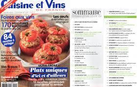 cuisine et vin ma revue de presse culinaire française pour septembre 2014