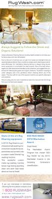 upholstery cleaning nyc always suggest to follow the green and