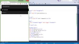 bootstrap tutorial tutorialspoint bootstrap navbar class youtube