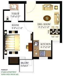 500 square foot studio apartment decorating feet house floor plan