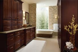 Kraftmaid Bathroom Cabinets Kraftmaid Garrison Cherry Bath Cabinets Traditional Detroit