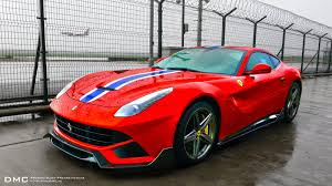 Ferrari F12 Orange - ferrari f12 gets dmc spia treatment with speciale stripe
