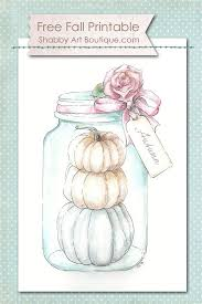 Shabby Chic Fall Decorating Ideas 12 Best Fall Images On Pinterest Deko Free Printables And Diy