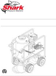 shark pressure washer sgp 3530 user guide manualsonline com