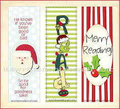 it u0027s written on the wall freebie christmas bookmarks have