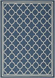4 X 5 Outdoor Rug Amazon Com Safavieh Courtyard Collection Cy6918 268 Navy And