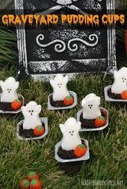 graveyard pudding cups tgif this grandma is fun