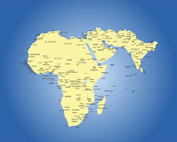 East Africa Map Client Services Regional Teams Meai