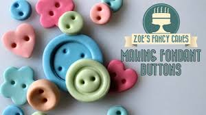 Home Button Decorations Making Fondant Buttons How To Cake Decorating Turorial Youtube