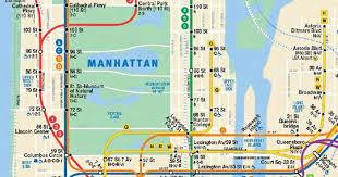 map of ny subway mta gives peek at updated subway map with second ave line ny