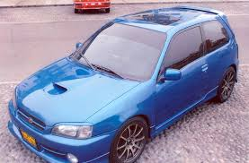 1995 toyota starlet glanza v ep91 related infomation