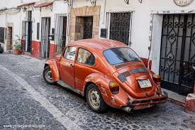 orange volkswagen beetle taxco taxis u2026 and other vws of taxco u2013 peter u0027s travel blog