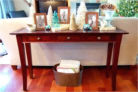 table that goes behind couch mirror behind couch holhy com