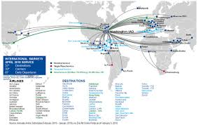 Sea Airport Map Nonstop Destinations Metropolitan Washington Airports Authority