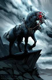 black unicorn by el grimlock on deviantart