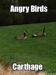 Funny Angry Memes - meme maker angry birds carthage