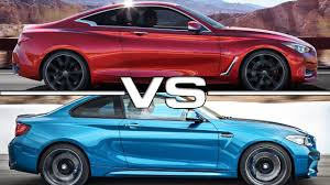 lexus is350 f sport vs bmw 340i infiniti q60 coupe vs bmw m2 coupe youtube