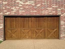 wood garage door archives plano overhead door