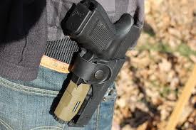 glock 19 light and laser fobus s any light tactical holster gunsamerica digest