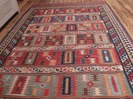 Azari Rugs Antique Qashqai Kilim For Sale At 1stdibs