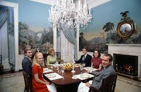 White House Dining Room Nixon Photo Gallery Page 2